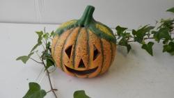 dýně malá,podzimní keramická dekorace